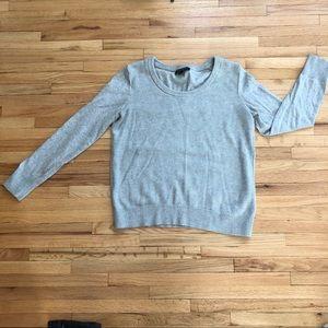 Banana Republic heather gray sweater size Medium